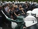Cảnh sát Đức đụng độ với người biểu tình trước thềm khai mạc G7
