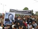 Hàng nghìn người dân tiễn đưa ông Nguyễn Bá Thanh