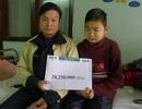 Hơn 28 triệu đồng đến với cậu bé Đặng Văn Ton