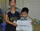 Hơn 41 triệu đồng đến với người phụ nữ có mẹ bị ung thư, con bị suy tim nặng