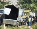 Tàu hỏa tông ô tô văng hàng chục mét, 2 người thiệt mạng