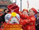 """Phục dựng nghi lễ """"rước nước, tế cá"""" tại lễ hội đền Trần"""