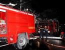 Chập điện gây cháy nhà, cả khu dân cư hoảng loạn