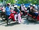 Nữ sinh giằng co với tên cướp xe máy táo tợn