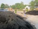 Công ty đổ 50 tấn chất thải ra môi trường bị đình chỉ sản xuất