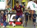 Barcelona bị cầm chân trong ngày ra mắt của Neymar