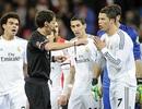 Trọng tài phạt thẻ đỏ C.Ronaldo bị treo còi 1 tháng