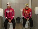 Nhà vệ sinh thiết kế kỳ lạ tại làng Olympic Sochi