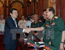 Chủ tịch nước tiếp đoàn đại biểu cựu chiến binh Sư đoàn 324