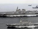 """Báo Trung Quốc """"mách"""" kế PLA đối đầu Mỹ-Nhật"""