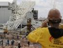 Sập cần trục sân vận động World Cup, 2 người chết