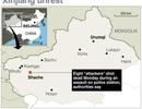 Trung Quốc: Tấn công khủng bố đồn cảnh sát Tân Cương