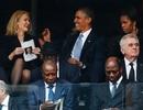 """""""Hài kịch 3 bên"""" trong ảnh """"tự sướng"""" của Obama"""