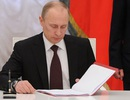 Putin ký luật hủy các thỏa thuận Hạm đội Hắc Hải với Ukraine