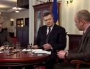 Ông Yanukovych: Hi vọng Crimea có thể trở lại Ukraine