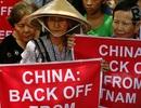Người VN-Philippines cùng xuống đường phản đối Trung Quốc ở Manila