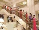 Người đẹp Hoa hậu Việt Nam khoe sắc trong trang phục dạ hội