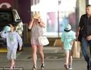 Con trai Britney Spears hào hứng ra mặt khi được mẹ đưa đi sắm đồ mới
