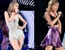 Taylor Swift khoe chân dài miên man trong váy siêu ngắn