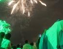 Hàng vạn người dân Huế đội mưa xem pháo hoa mừng 40 năm giải phóng