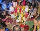 Sinh viên Lào sôi nổi đón Tết trên đất cố đô