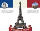 (Infographic) Tháp Eiffel tròn 126 tuổi: Những sự thực ít biết