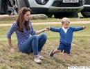 """Kate xuất hiện thon gọn cùng """"hoàng tử bé"""" sau 6 tuần sinh con"""