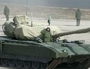 """Nga """"trình làng"""" xe tăng mới trong diễu binh kỷ niệm chiến thắng phát xít"""