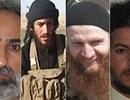 """Mỹ treo thưởng 20 triệu USD """"mua"""" thông tin về 4 thủ lĩnh IS"""