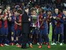 Barcelona tưng bừng đón chức vô địch La Liga tại Nou Camp