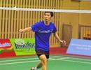 Tiến Minh thua ngay vòng đầu giải cầu lông Indonesia