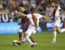 """""""Hủy diệt"""" Vallecano, Barcelona độc chiếm ngôi đầu La Liga"""