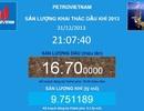 Petrovietnam hoàn thành vượt kế hoạch khai thác dầu khí năm 2013