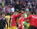 Niềm hạnh phúc của Atletico trong ngày vô địch La Liga
