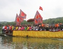 Độc đáo lễ hội rước nước mang về tắm cho Phật