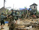 Nghĩa tình người lính biên phòng trong cơn bão lũ