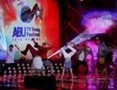 Nhóm nhạc Justice Crew khuấy động ABU TV Song Festival 2013
