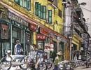 """Ra mắt cuốn """"Hà Nội rong ruổi quẩn quanh"""" của nhà văn Băng Sơn"""