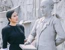 Lý Nhã Kỳ thăm bảo tàng lịch sử Indonesia