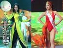 Hình ảnh Trần Thị Quỳnh trong đêm chung kết Hoa hậu Quý bà Thế giới