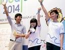 Trương Phương-Trung Quân chung tay làm Đại sứ Ngày hội tình nguyện toàn cầu
