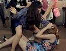 Andrea bị đánh ghen trong MV của Trương Phương