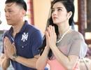 Lý Nhã Kỳ, Ngô Quang Hải tới chùa phóng sinh cầu hòa bình