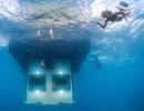 Thăm khách sạn dưới nước đầu tiên tại châu Phi