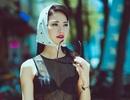 Hoa hậu Trần Thị Quỳnh táo bạo diện áo trong suốt