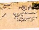 Tìm thấy bức thư tình thất lạc sau gần 70 năm