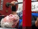 Ngưỡng mộ kỷ lục nâng tạ của cụ ông 91 tuổi