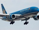 Một Việt kiều định mở cửa thoát hiểm, la hét trên máy bay