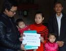 Hơn 358 triệu đồng đến với hai gia đình bé bị u ổ bụng và tim bẩm sinh