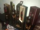 Thu giữ gần 30 thùng rượu ngoại nhập lậu